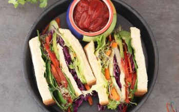 Ultimate Veggie Jumbo Sandwich