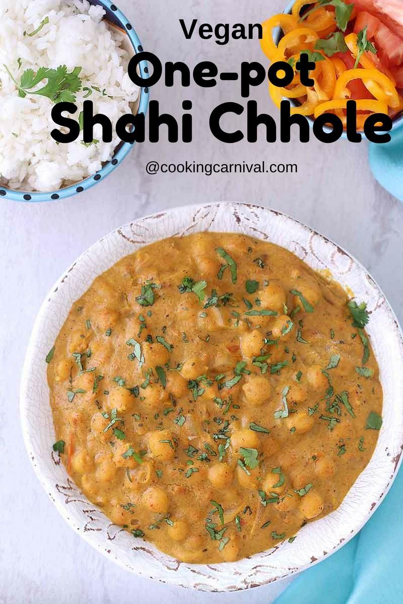 Instant Pot Shahi Chhole