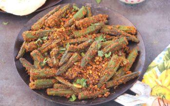 Tawa Bhindi | Bhindi Masala Recipe | Vegan Okra Recipe