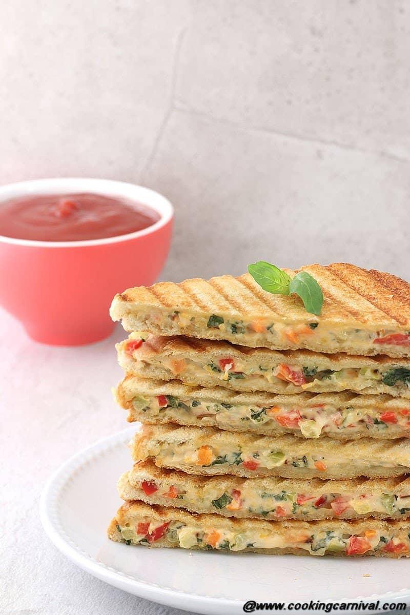 Veg Mayo Grilled Sandwich2