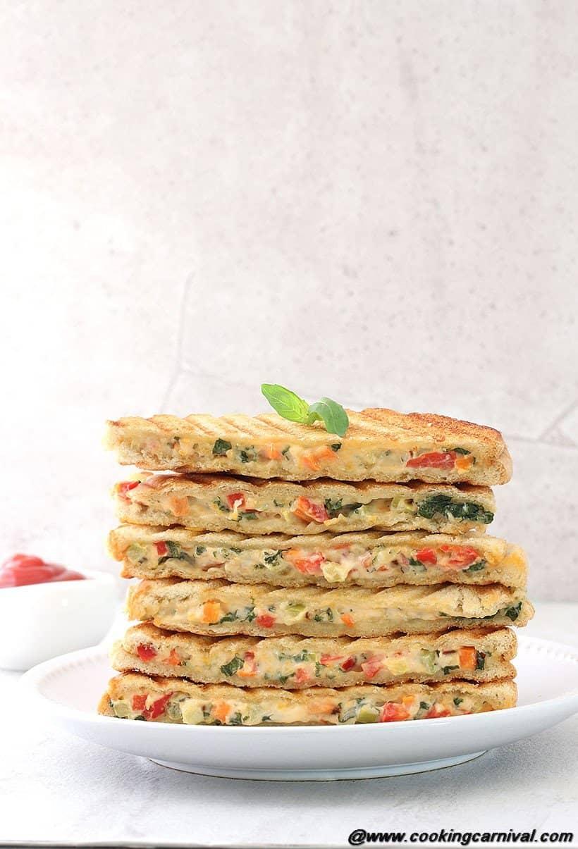 Veg Mayo Grilled Sandwich3