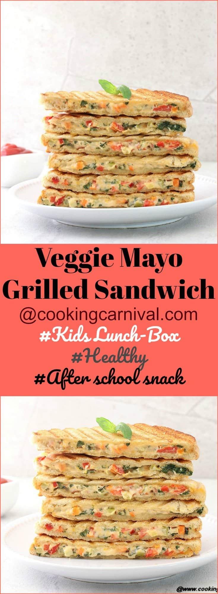 Veg Mayo Grilled Sandwich5
