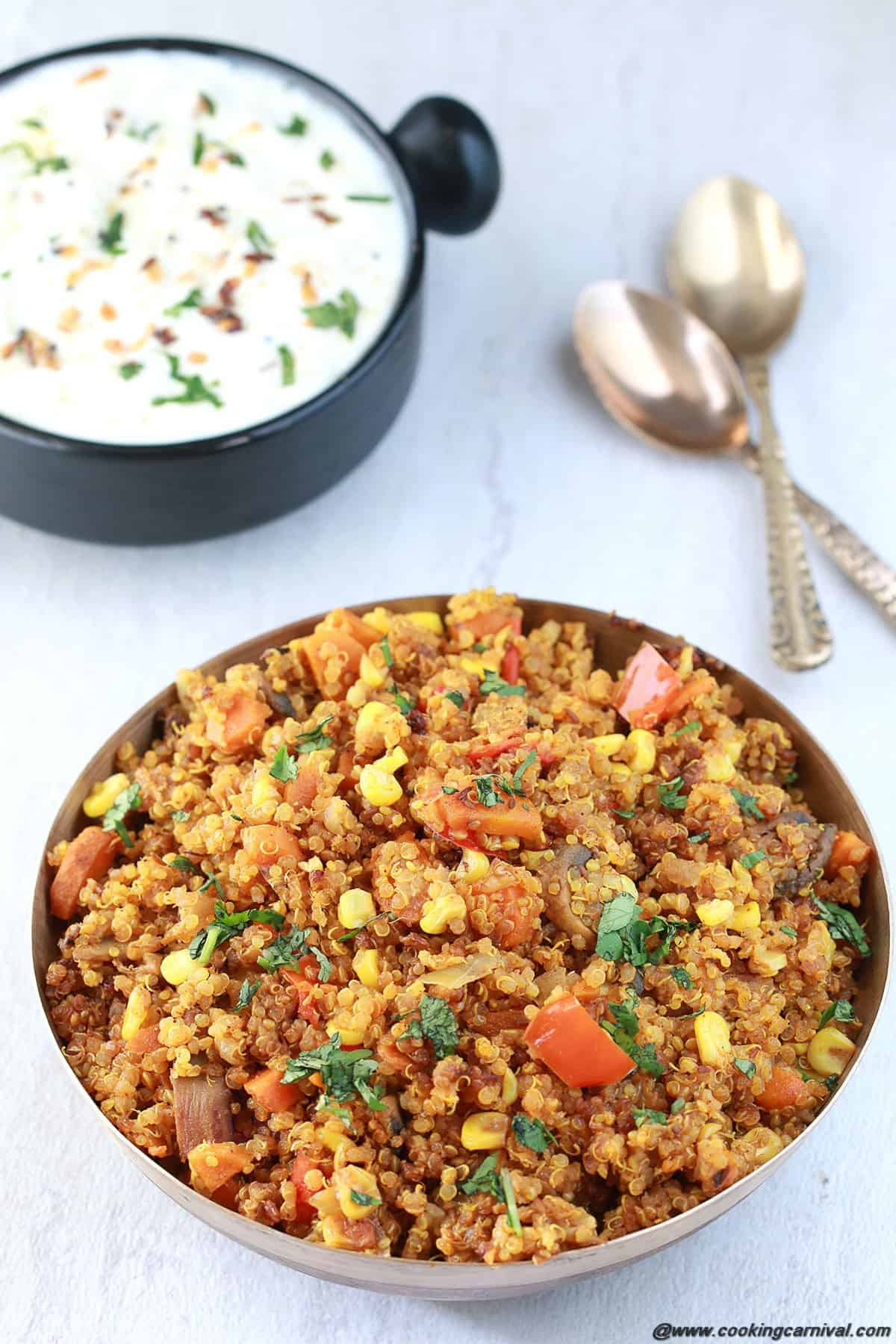Vegetable Quinoa Pulao4