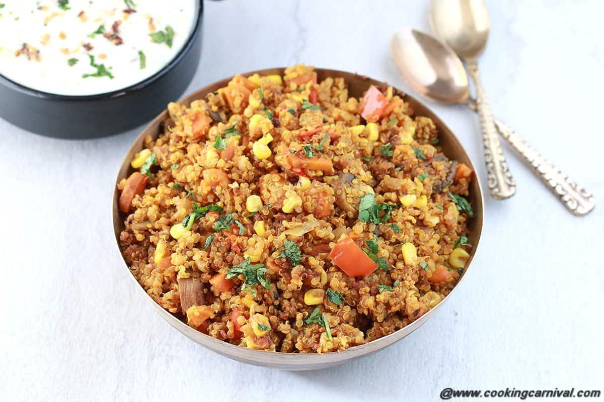 Vegetable Quinoa Pulao6