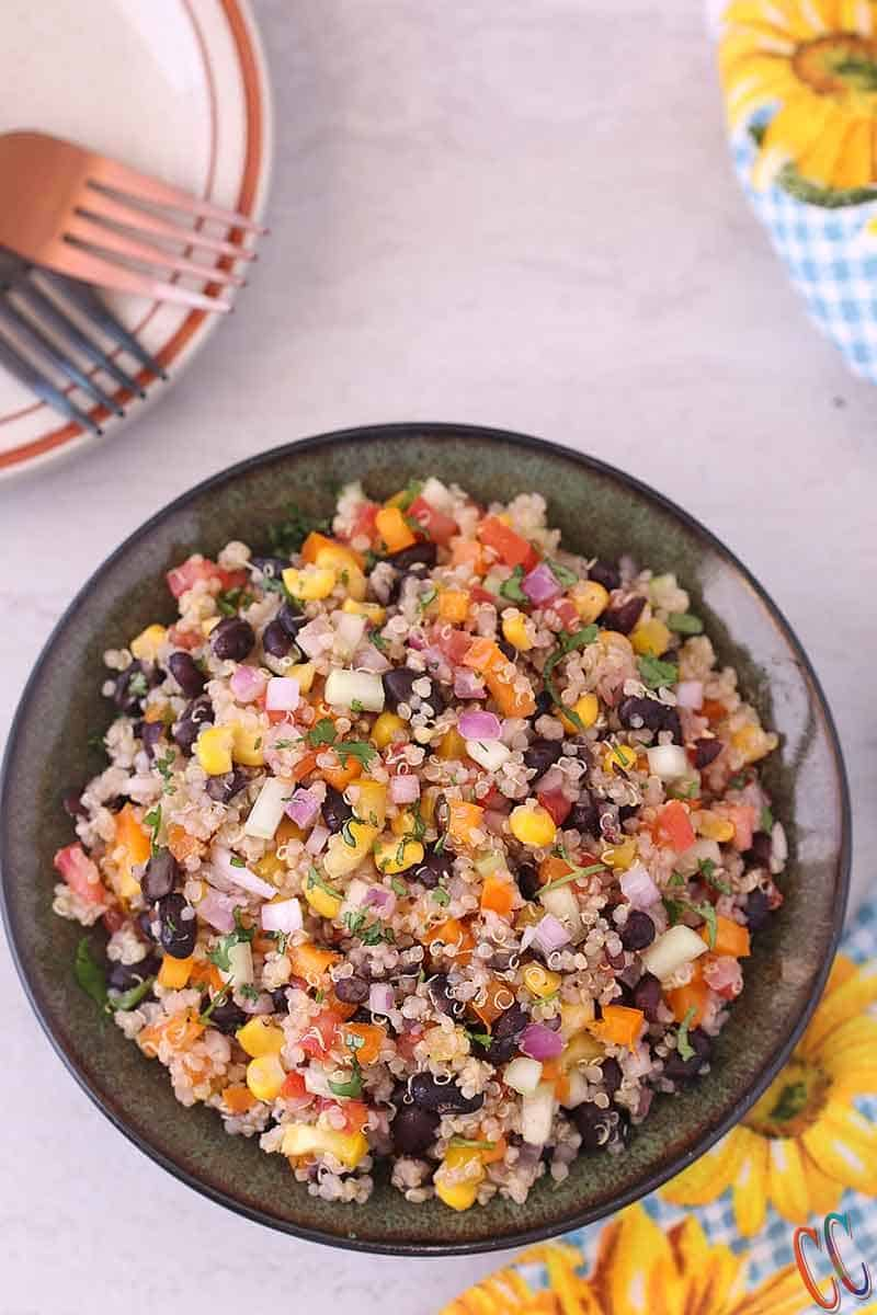 Quinoa Black Bean Salad | Quinoa Black Bean Salad Good for Pregnancy