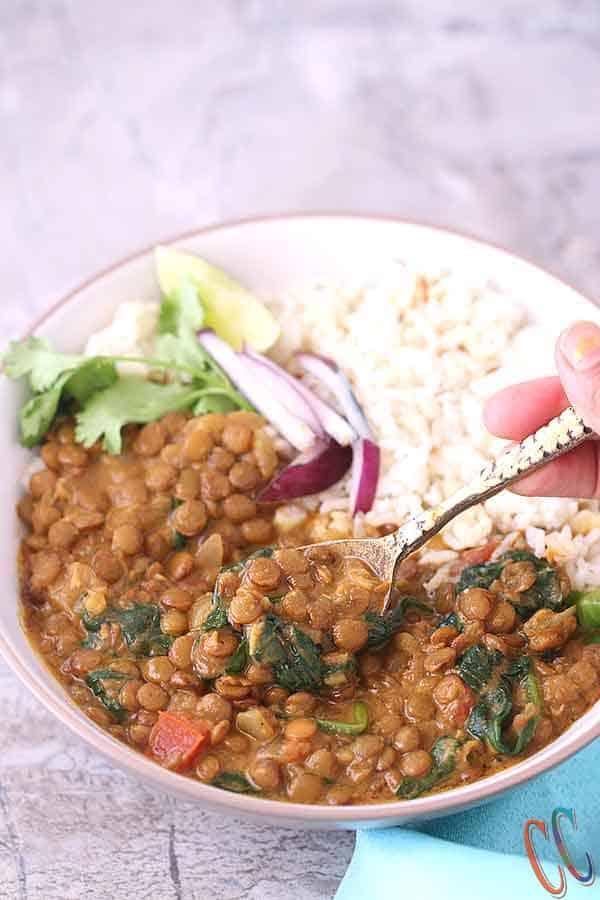 Lentil spinach soup, Healthy lentil soup, Healthy lentil soup