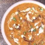 Instant Pot Mushroom Masala, easy and quick mushroom recipe, mushroom recipe Indian style, Mushroom curry recipe, Mushroom Sabzi