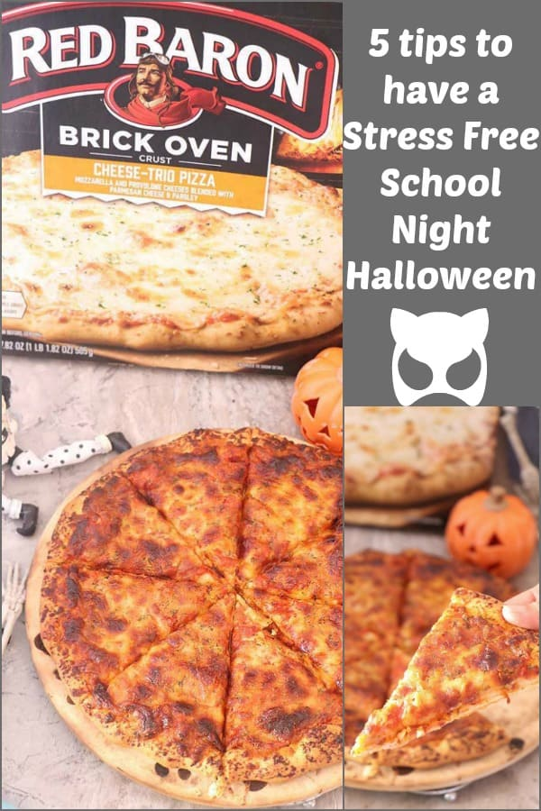 5 tips to have a Stress Free School Night Halloween
