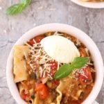 Pressure cooker Lasagna