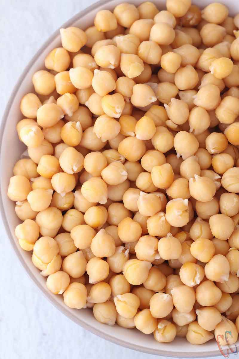 Instant Pot Chickpeas - Quick, Hands free, easy, tastes better than canned ones and much cheaper than store bought Garbanzo beans cooked in Instant Pot / Pressure cooker. It's a Low- Sodium recipe which is WIN WIN....