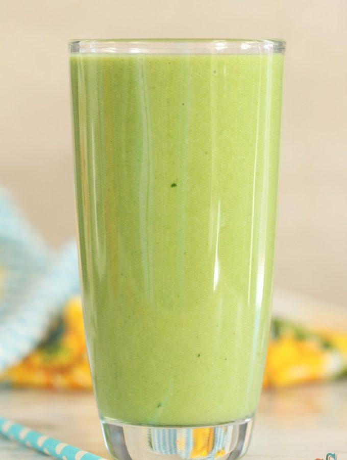 green Tropical Smoothie Recipe