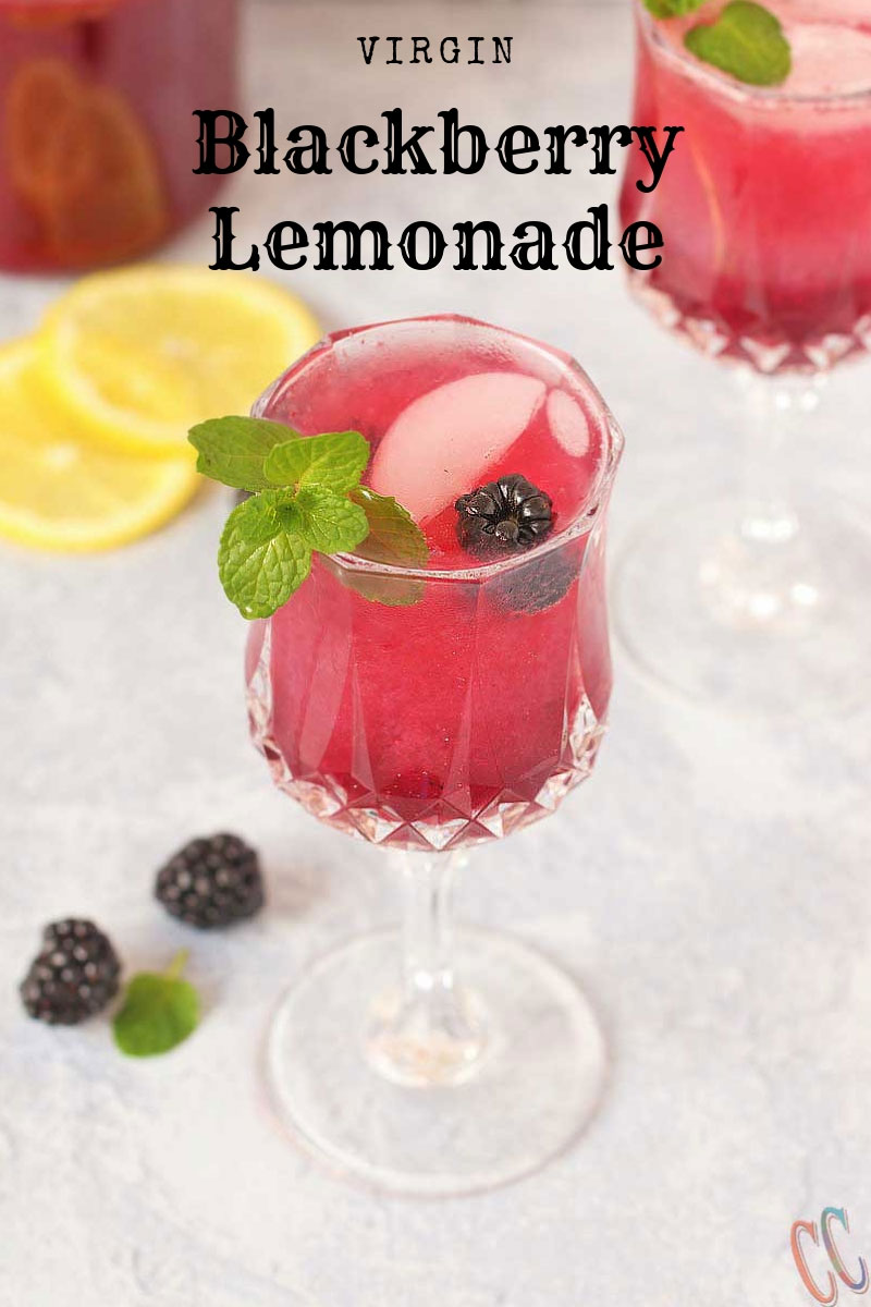 Blackberry Lemonade Syrup - A kids friendly, simple and easy to make lemonade syrup recipe that's perfect for spring or summer. It has tang, a little bit sweet and refreshing flavor.