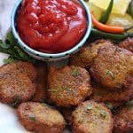 Lentil Vegetable Nuggets - Vegan, Gluten-free, Healthy, Kid friendly, simple and easy to make, Perfect for any party as a appetizer or snacks.