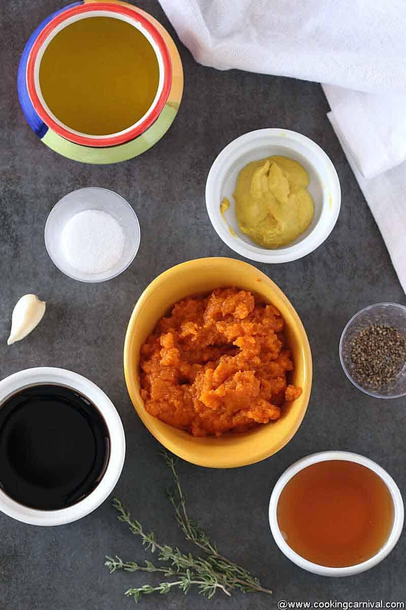 Ingredients-for-Pumpkin Vinaigrette