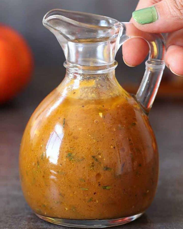 easy Pumpkin Vinaigrette