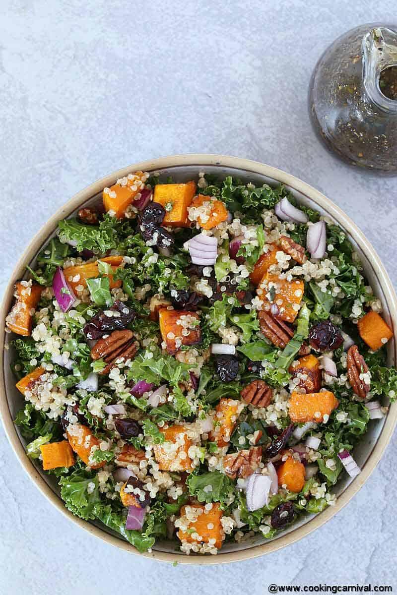Fall Roasted Butternut Squash Salad