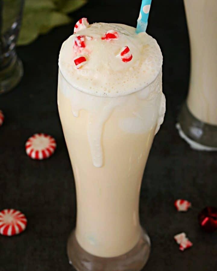 Christmas Ice cream Float
