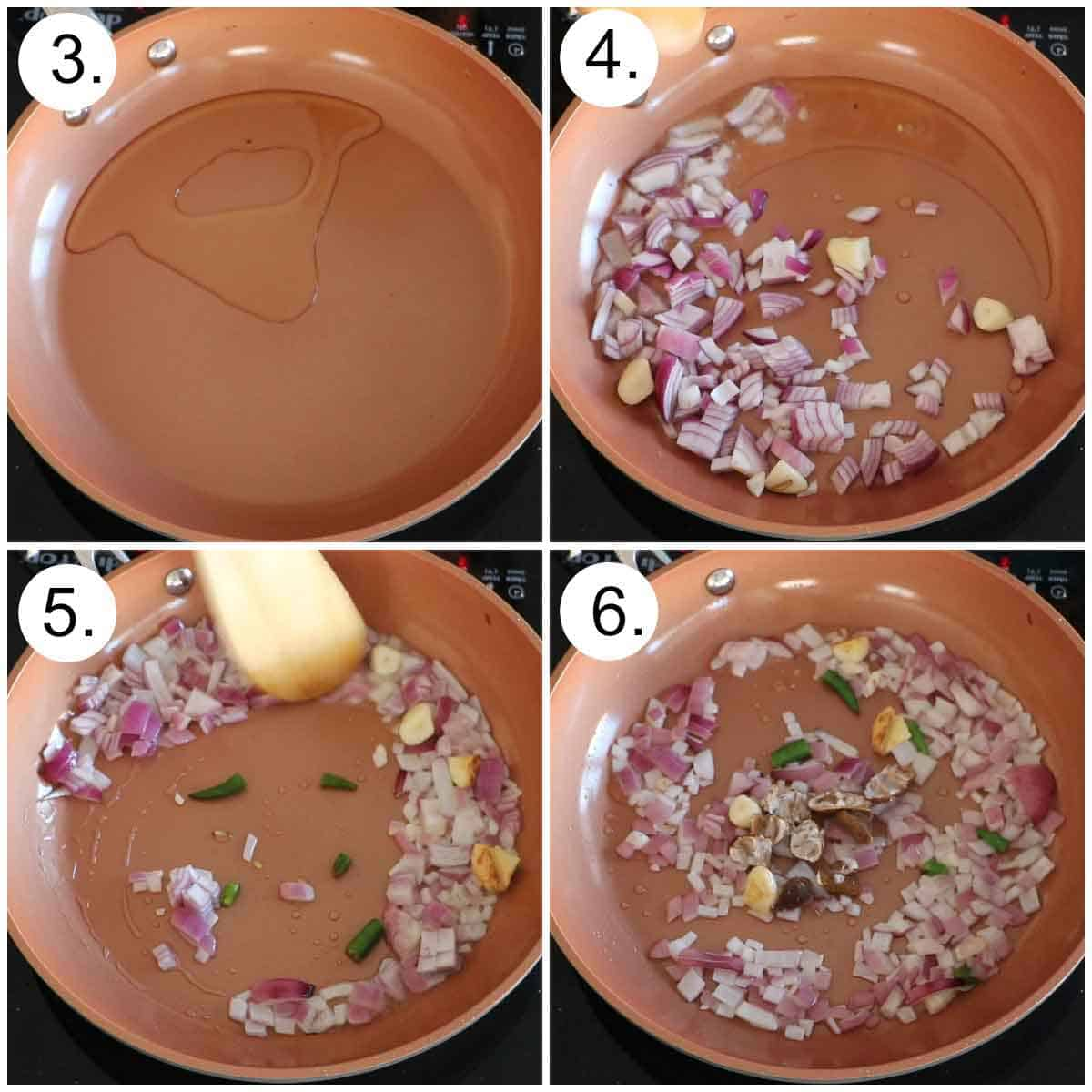 Step by step recipe of peanut chutney 1