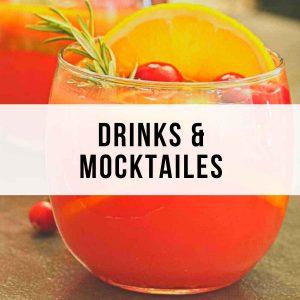 Drinks and Mocktails