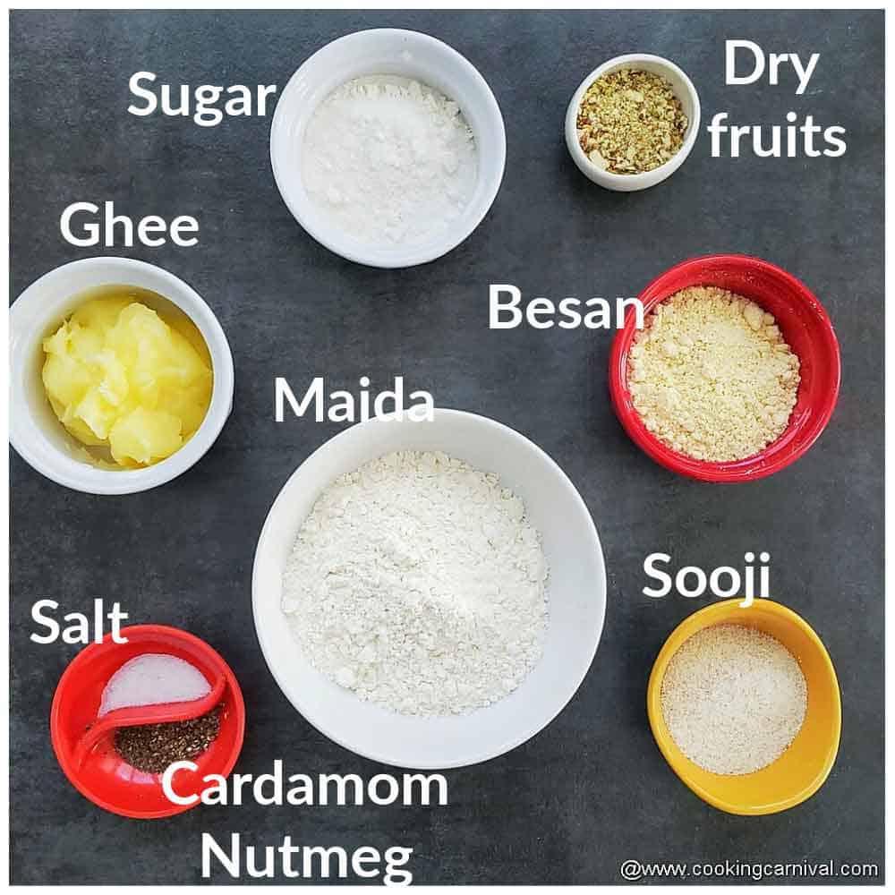 pre-measured ingredients