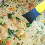 Tortellini soup in instant pot