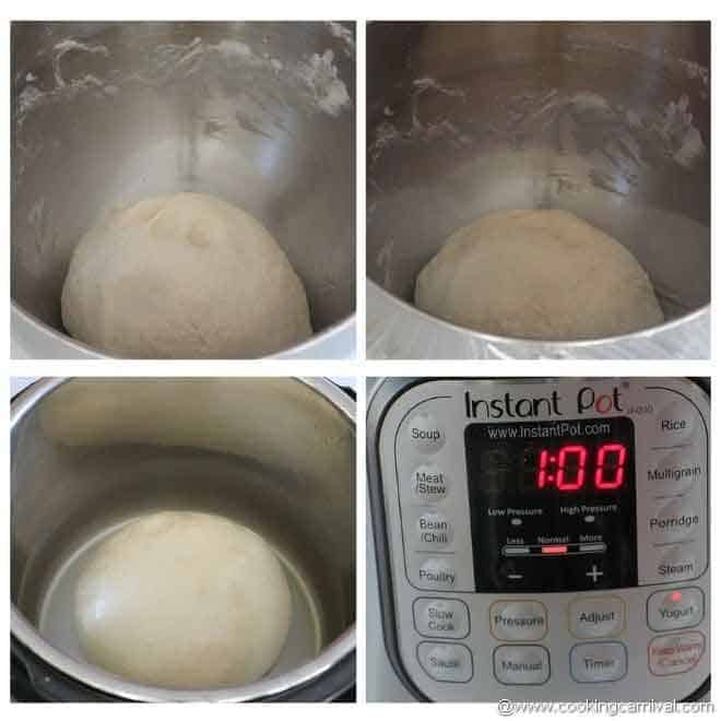 proofing dough in instant pot