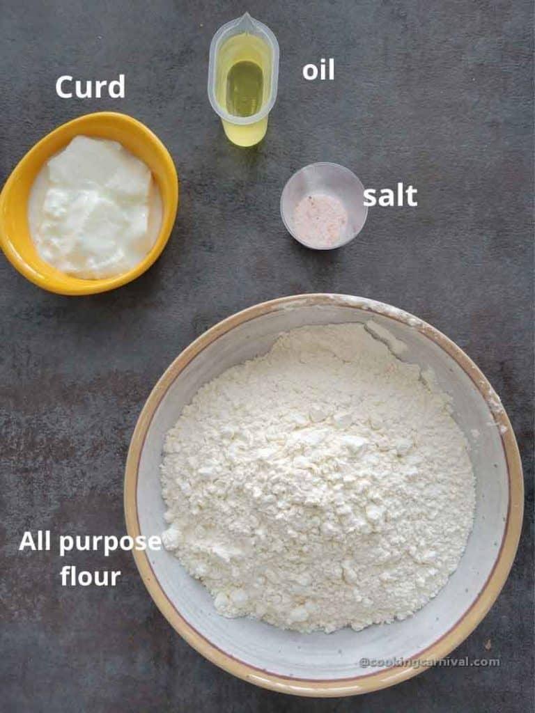 pre measured ingredients of frankie roti