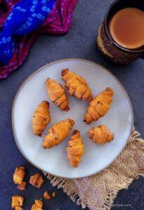 Air-fried mathri
